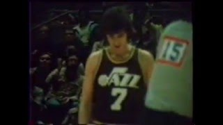 [1/14/78] Pistol Pete Maravich vs. Warriors rare film