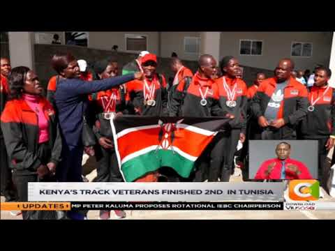Kenya's track veterans finished 2nd in Tunisia