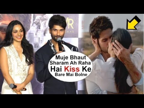 Shahid Kapoor BLUSHES When Asked About KISSING Kaira Advani Passionately In Kabir Singh Trailer Mp3