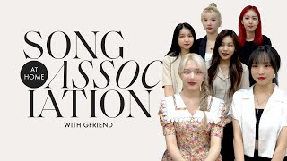 "GFRIEND Sings ""Sunrise,"" Maroon 5, and Avril Lavigne in a Game of Song Association 
