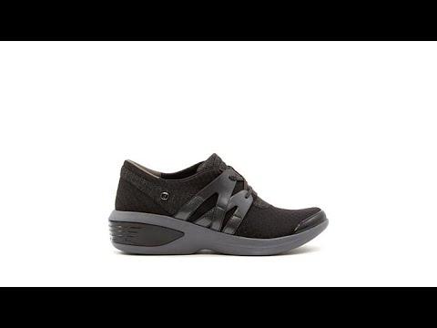 Bzees Flicker LaceUp Sneaker - YouTube