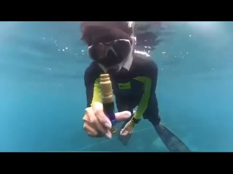 Ultimate Vape Tricks Underwater