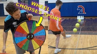 ALL SPORT BOWLING CHALLENGE! *Trick Shot Olympics*