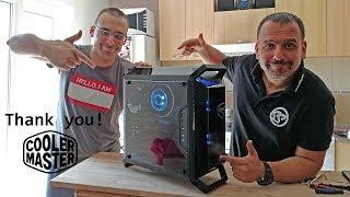 Cooler Master Q300P build for my bro!