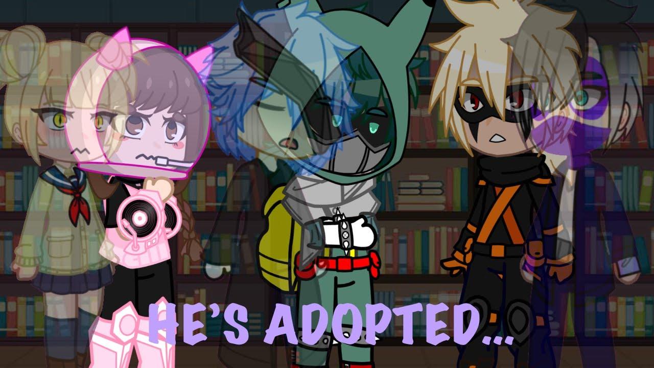 He's Adopted.   BNHA x Avengers   !Shigadeku Brothers AU!