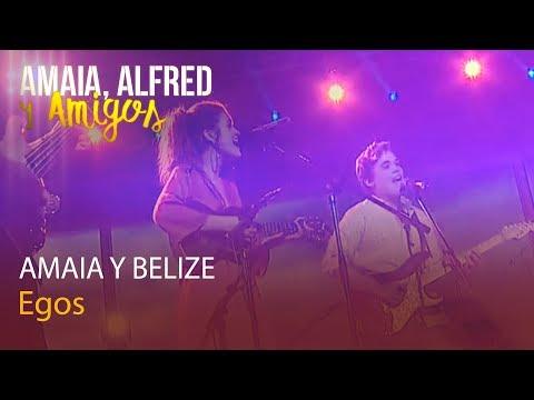 Amaia, Alfred y Amigos | Belize canta con Amaia - EGOs | Playz