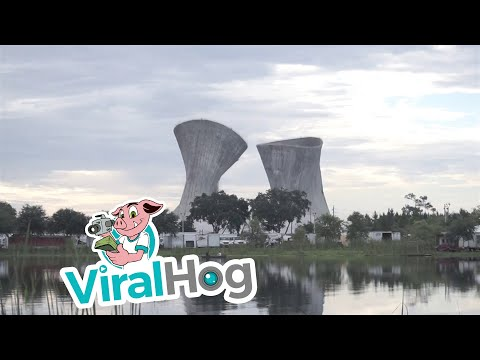 The implosion of Cooling Towers