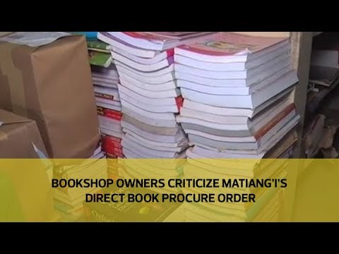 Bookshop owners criticize Matiang'i's direct book procure order