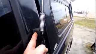 95 f150 CB antenna install on cab Firestik II