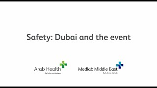 Safety: Dubai and the event