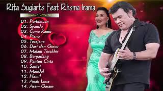 Gambar cover RITA SUGIARTO FEAT RHOMA IRAMA PASANGAN YANG SEMPURNA 2019 - PILIHAN LAGU DUET DANGDUT TERBAIK