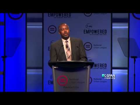 Ben Carson addresses National Urban League