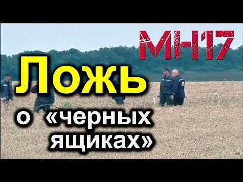 MH17 : Видео нахождения «черных ящиков» сбитого Боинга – ложь