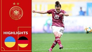 Ukraine - Deutschland 0:8 | Highlights | Frauen EM-Qualifikation