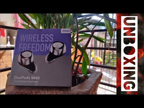 Mivi Duopod M40 Unboxing | First Impression | Best Wireless Earbuds ?