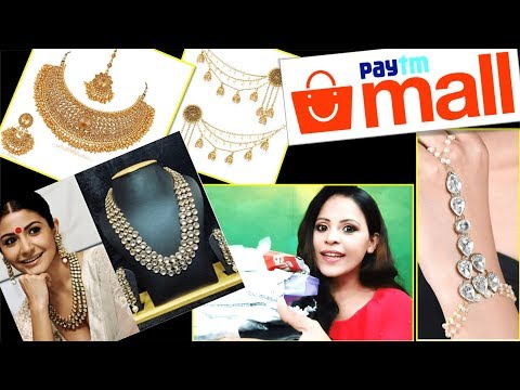 Paytm Jewellery Haul | Makeup Hindi | Paytm Mall Shopping | Makeup in Hindi with Ideas with Aru