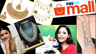 Unboxing Paytm Jewellery Haul | Makeup Hindi | Paytm Mall Shopping with Ideas with Aru