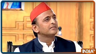 Akhilesh Yadav in Aap Ki Adalat: Hold all party meeting on surgical strike like Masood Azhar's Time