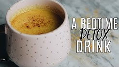 My Golden Milk Recipe: The Best Bedtime Detox Drink!