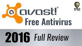 Avast Free Antivirus 2016 Review