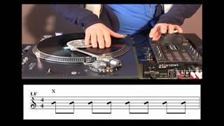 Turntablism Tutorial -Skratch Techniques 2- 2/3