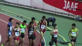 山田楓河11.46(-0.2)優勝/ 2017ジュニアオリンピック陸上C男子 100m決勝 + 表彰式