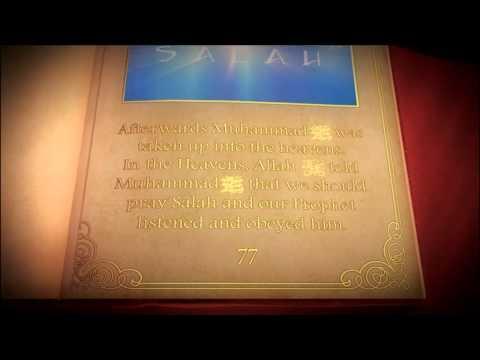 Isra' mi'raj (for kids). Verse English