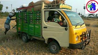 36inch Mini TARA ACE STUCK in mud / TATA ACE PULLING / TATA 275 IDI Diesel BS IV / Village work