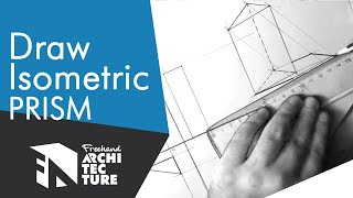 [TUTORIAL] Triangular Prism In Technical Drawing (Line Drawing + Hatching)