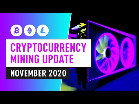 Bitcoin & Cryptocurrency Mining Update – November 2020 Industry News & Insight