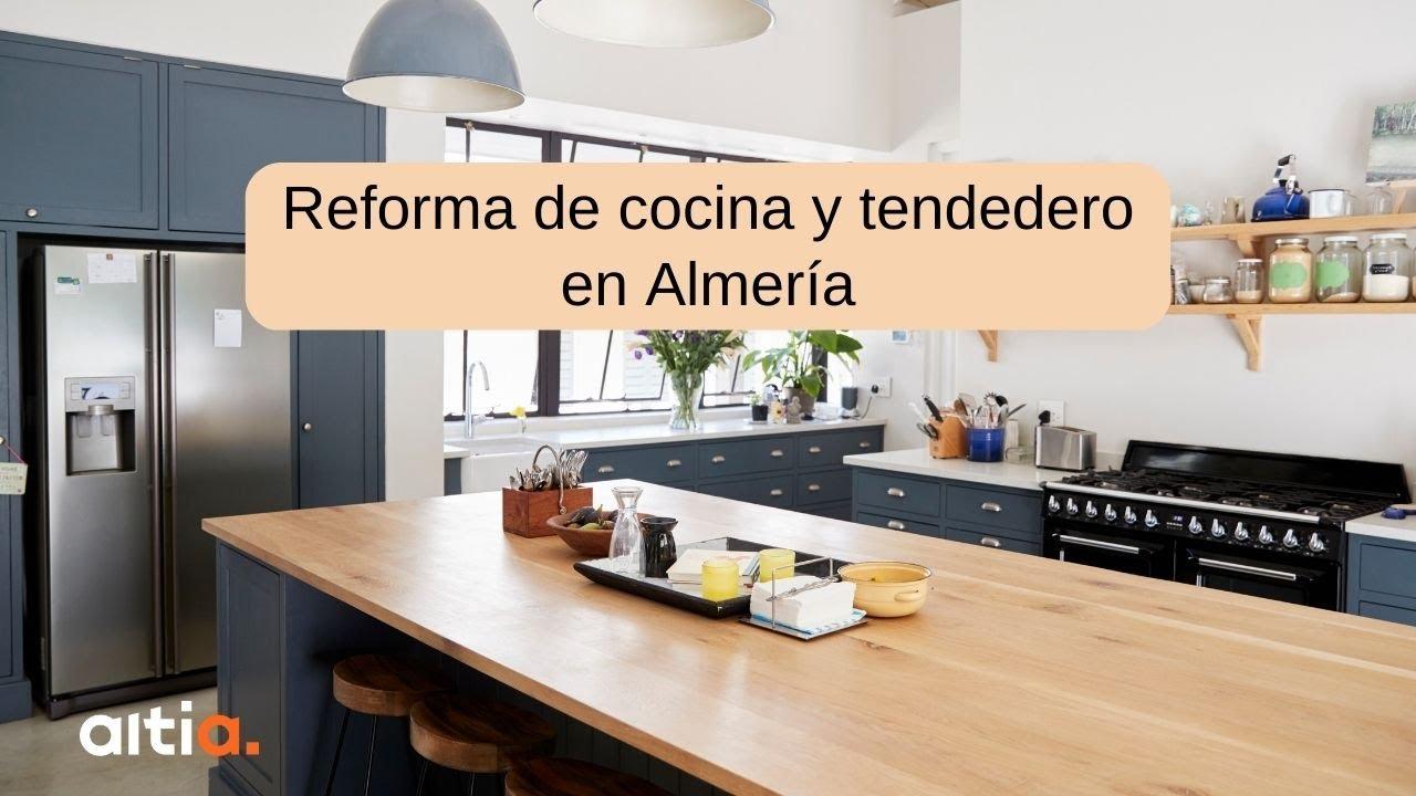 Reforma de cocina y tendedero en almer a youtube - Reformas altia ...