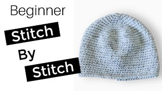 How to Crochet a Beanie for Beginners