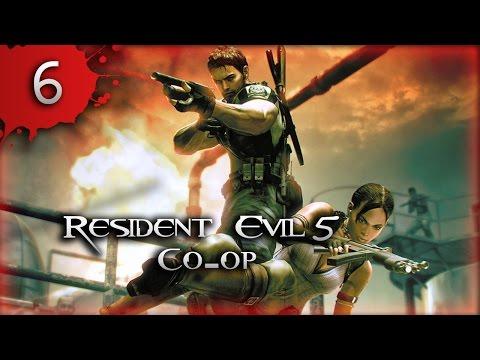 Прохождение Resident Evil 5 Co-op Часть 6 Болота