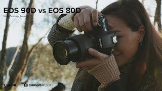 Canon EOS 90D vs EOS 80D Comparison Review