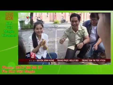 Chuyển động 24h - VTV1 - Ảo thuật đường phố