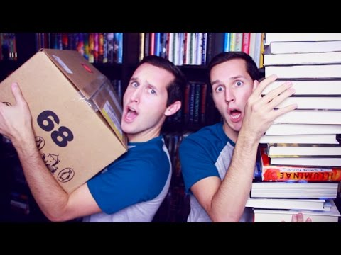 MASSIVE BOOK UNBOXING!