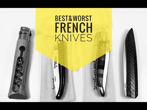 Best & WORST French Knives
