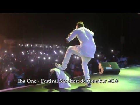 Iba One, Prestation au Festival Manifest Conakry 2016