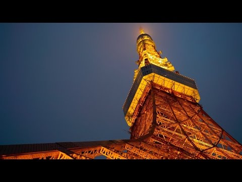 Lights of Tokyo Tower - Night view