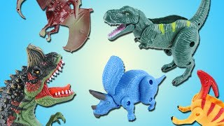 What happened to the egg? Surprise Eggs Transformation Dinosaur Toy! T Rex, Triceratops
