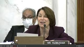 Senator Klobuchar Has Had Enough