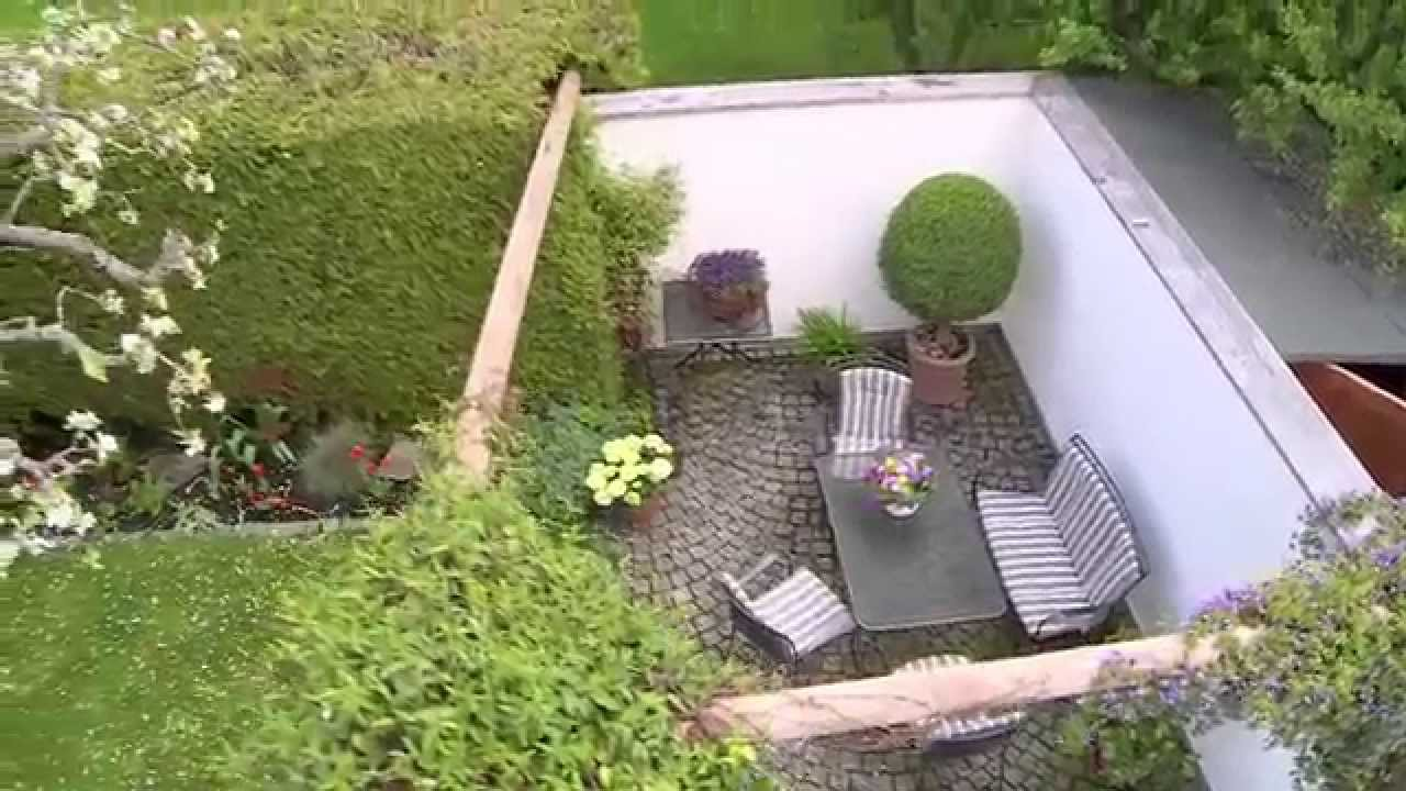 der romantische garten youtube. Black Bedroom Furniture Sets. Home Design Ideas
