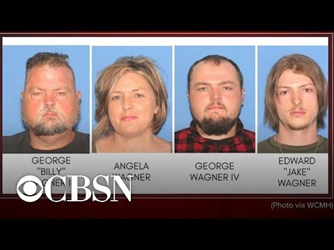 Family of 4 arrested in grisly slayings of 8 people in rural Ohio