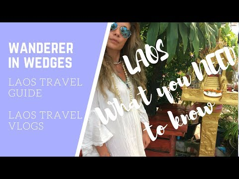 Laos Travel Guide --- Tips for Backpacking Laos - Vegan Travel, Vientiane & Wat Phou