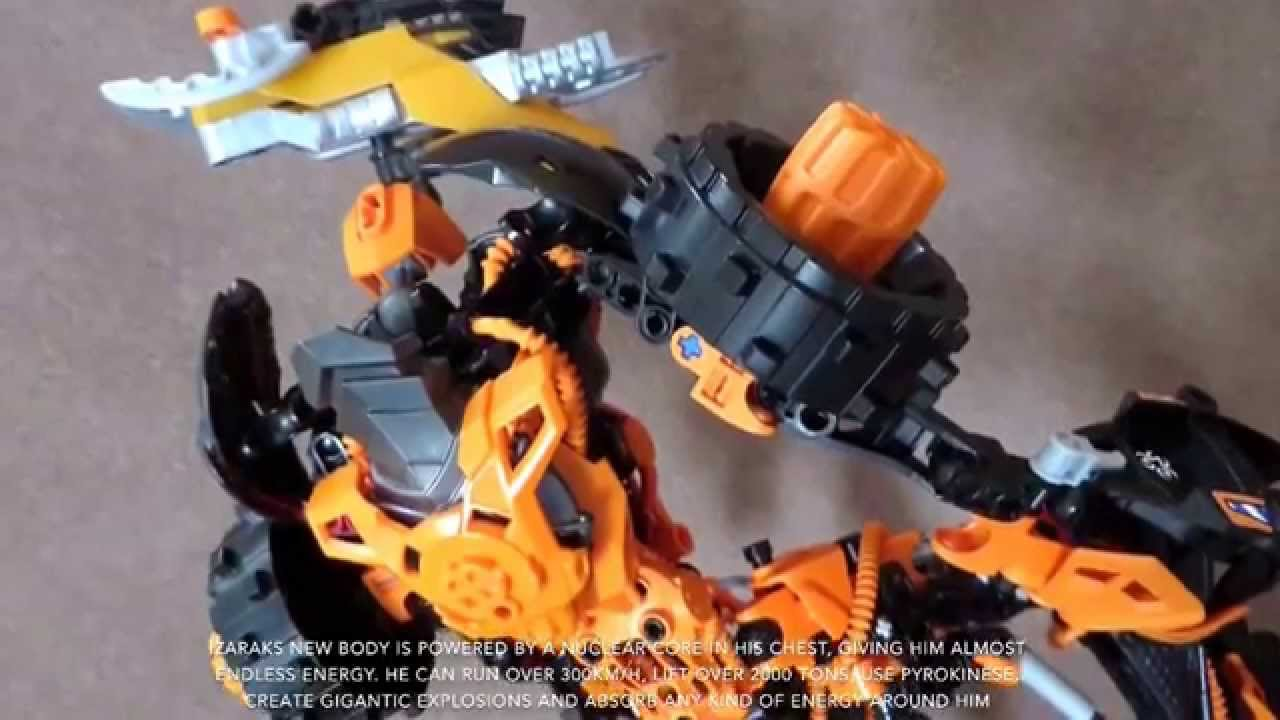 Lego Bionicle Moc Izarak The Northern Warlord Youtube