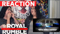 Reaction to WWE Surprise Rumble Entrants: WWE Top 10