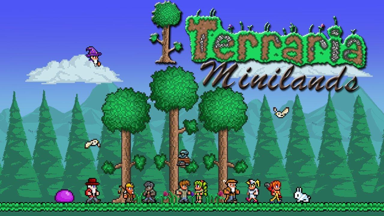 Lets Play Terraria Minilands Germanhd Part 28 Arm Wie Eine