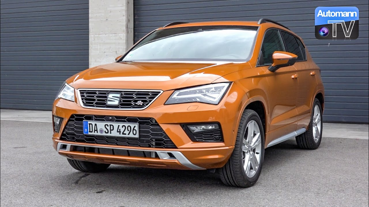 seat ateca fr 190hp drive sound 60fps youtube. Black Bedroom Furniture Sets. Home Design Ideas