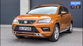SEAT Ateca FR (190hp) - DRIVE & SOUND (60FPS)