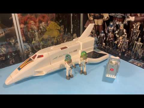 Alpha Probe Fisher Price Adventure People Space Shuttle Set With Figures! -So Awesome!
